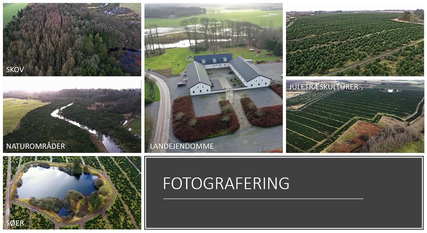 Drone fotografering